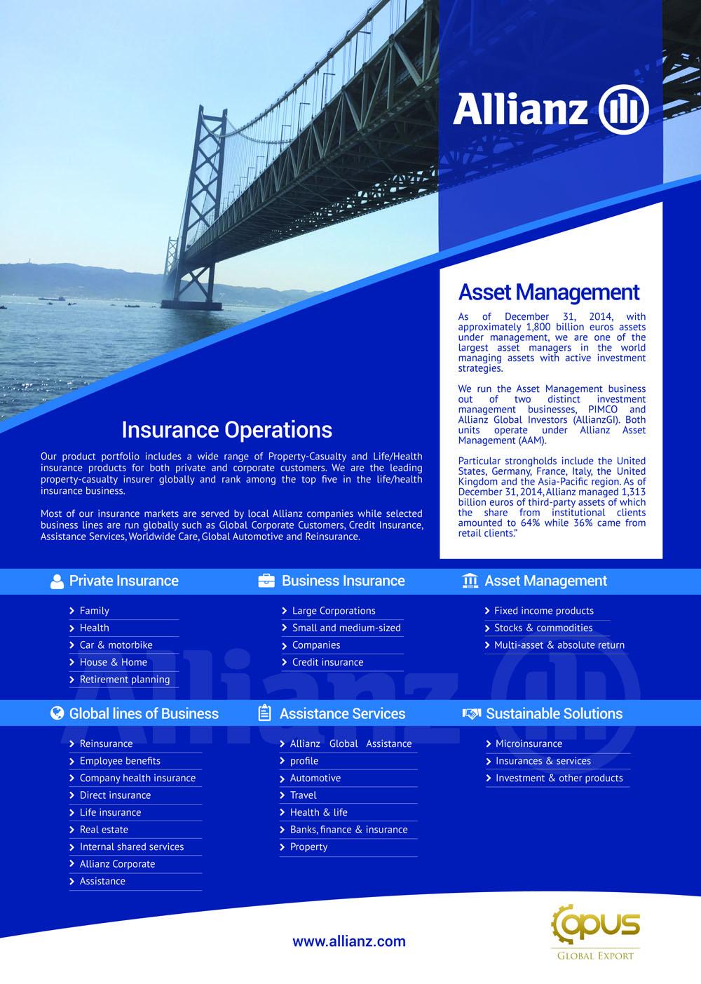 Allianz-Brochure