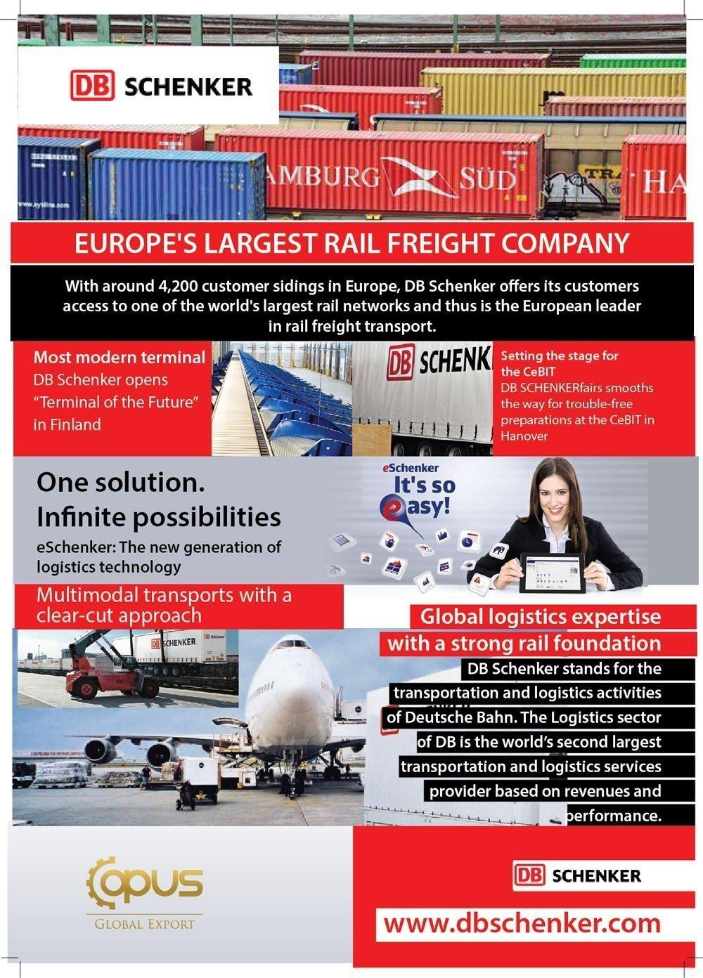 Schenker Logistics Brochure