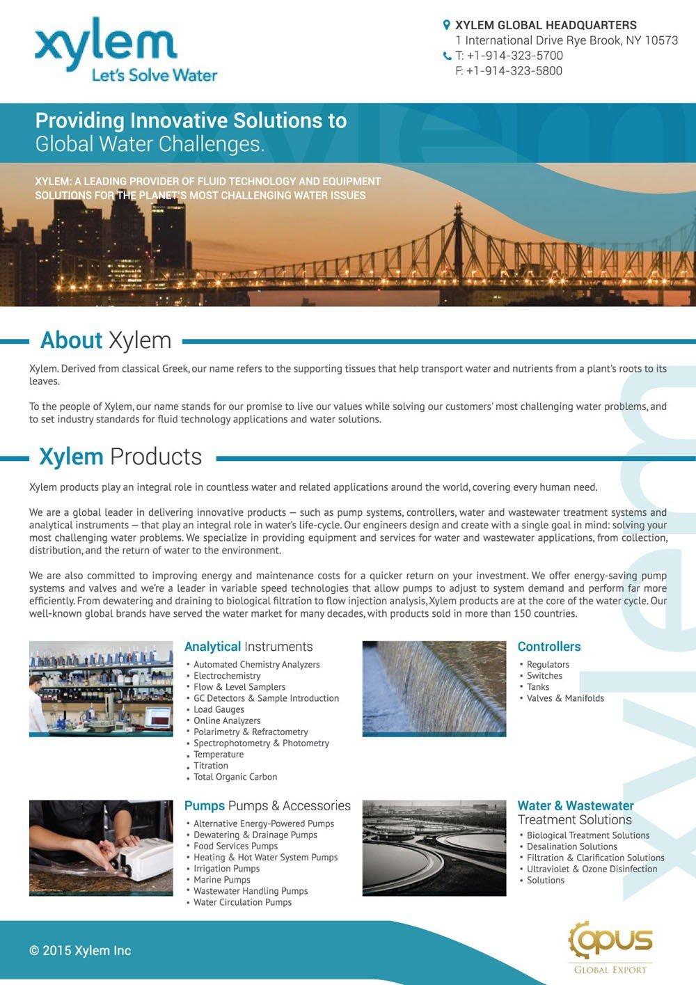 xylem technology